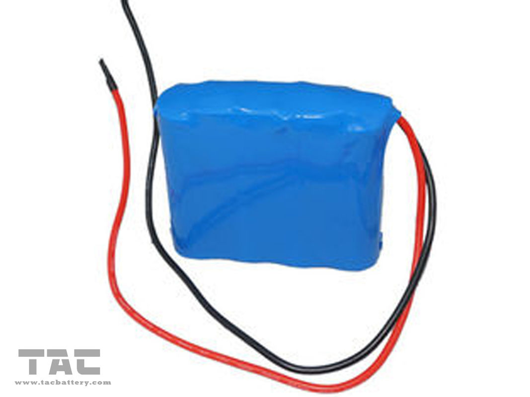 18500 12V LiFePO4 Battery Pack  1AH With BMS for Street Light and Lamp