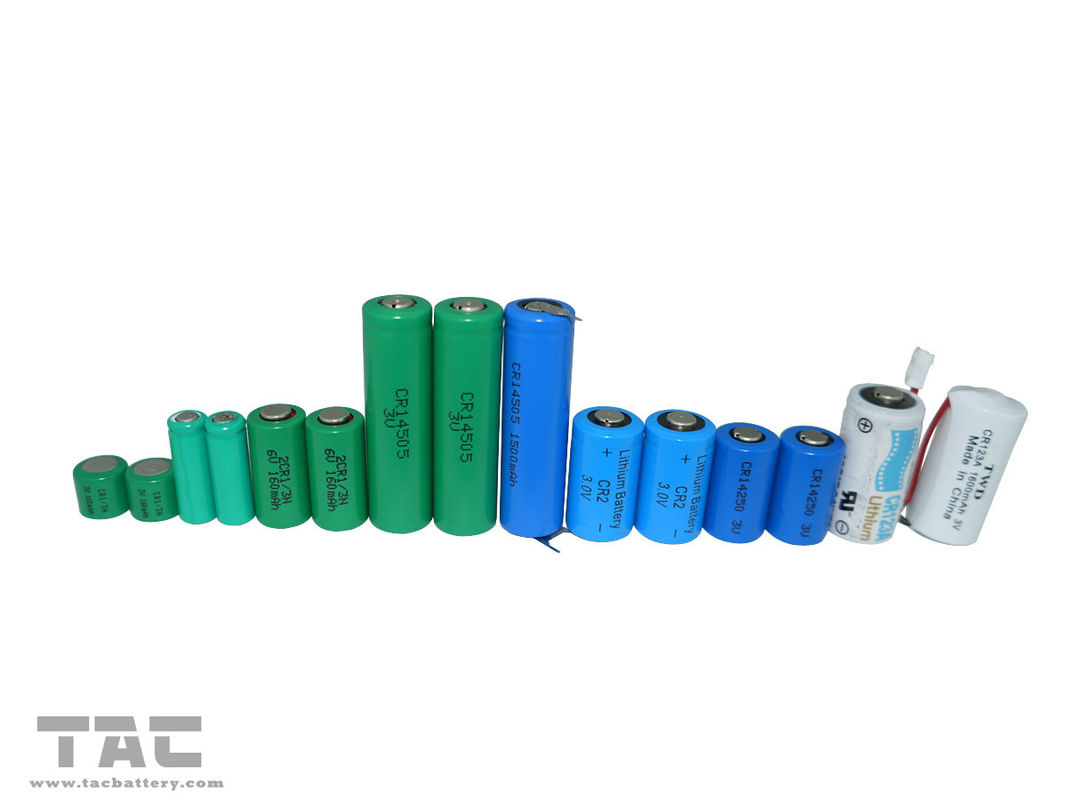 High energy density 800mAh / 3.0V CR2 Li-Mn Battery, CR15270 Battery for Camera
